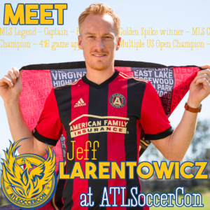 Come to ATLSoccerCon 2019 and meet Jeff Larentowicz